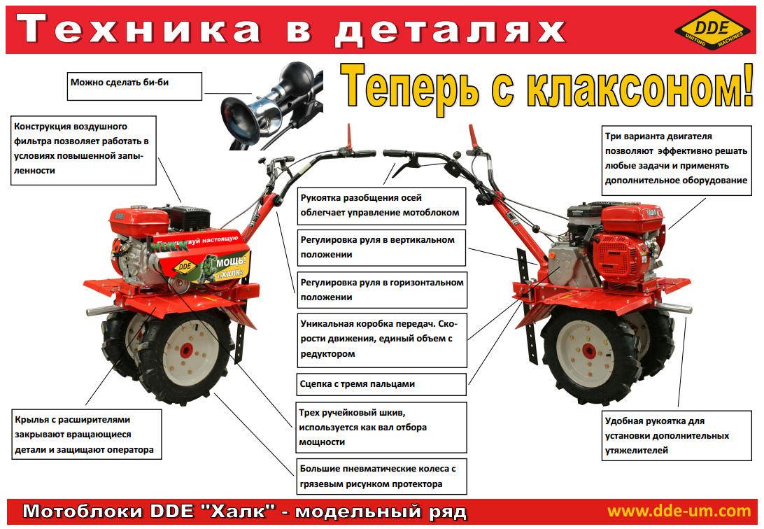 мотоблок двигатель инструкция
